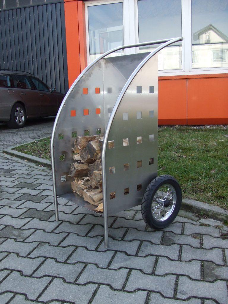 Kamin Holz Wagen